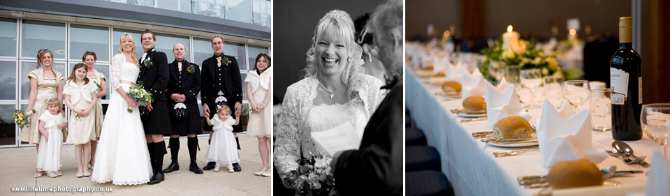 Weddings at the Bay Hotel, Fife